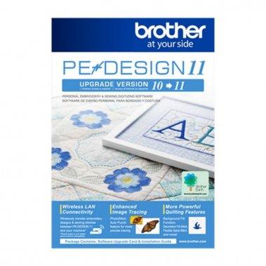 upgrade vyšívacího softwaru PeDesign 10 na PeDesign 11