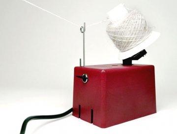 navíječ příze elektrický ELWO+parafínovač, klubka 125g