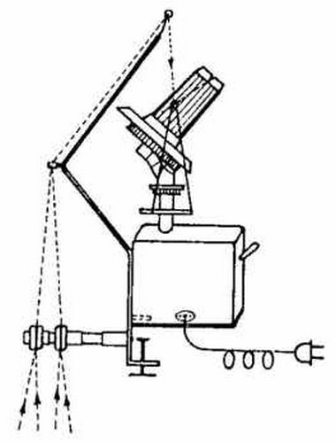 navíječ příze elektrický + stojan Twister, klubka 125g, navíjí až 4 příze najednou.-