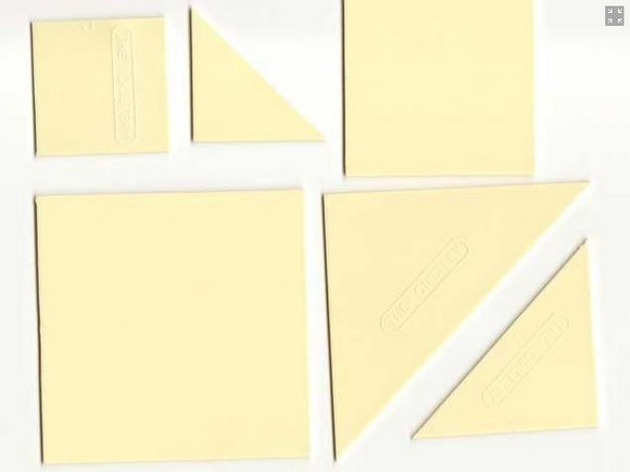 šablona set - 10 vzorů - patchwork-