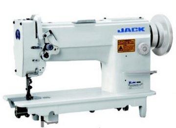 Jack JK-T5942-1 šicí stroj, spojené trojité podávání, velkoobemový chapač.