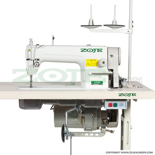 průmyslový šicí stroj Zoje - 1jehlový se spojkovým motorem-