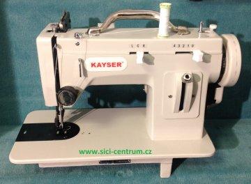 šicí stroj KAYSER - jedinečný domácí stroj na těžké materiály