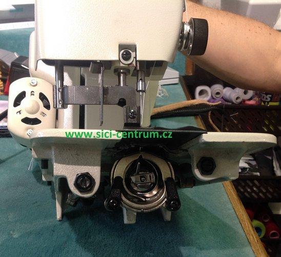 šicí stroj KAYSER - jedinečný domácí stroj na těžké materiály-