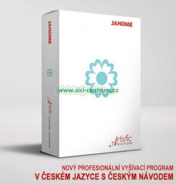 Vyšívací program Janome Artistic Digitizer v češtině