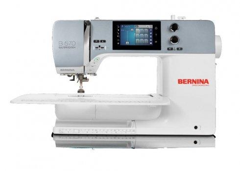šicí stroj Bernina 570 + záruka 5let