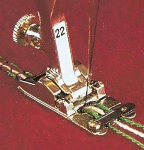patka na šňůrky č.25- pěti-drážková-