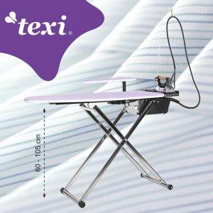 žehlící prkno s vyvíječem páry a žehličkou Texi Smart S+B