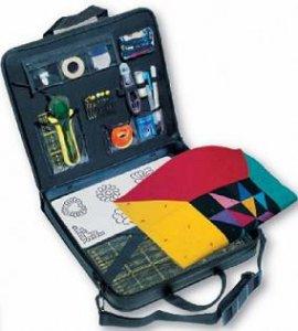 cestovní taška na patchwork 35x36x7cm-