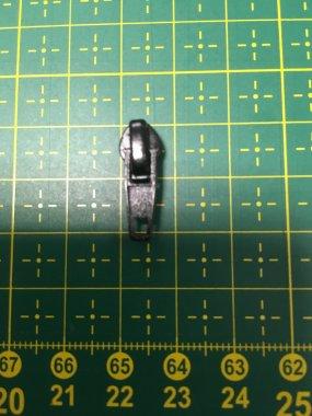 jezdec jednostr.spir.zip aret.3mm černý