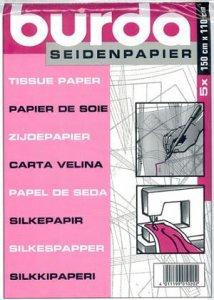 hedvábný papír BURDA na střihy