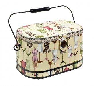 košík - kazeta na šicí potřeby velký