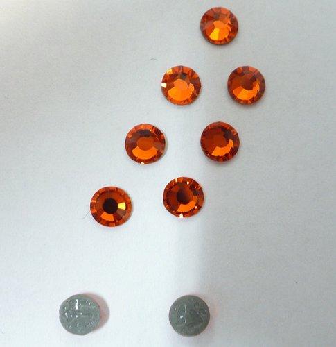 5mm kameny broušené barevné nažehlovací-