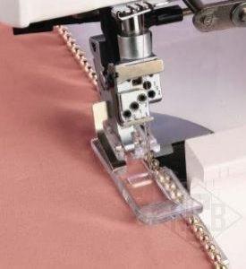 patka pro našívání perel - overlock-