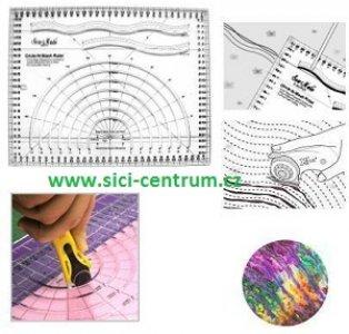 pravítko pro patchwork - křivítko