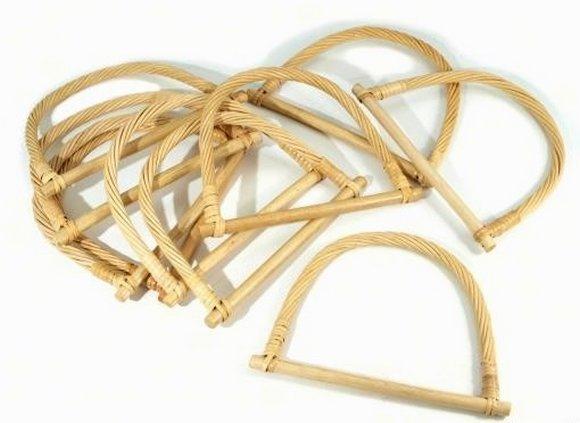 ucha na tašky bambusová 13x18cm-