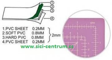jednostranná podložka 900x600x2mm-