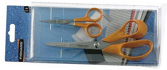 fiskars profi nůžky malé+velké 2ks-