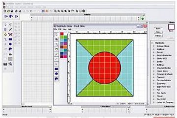 vyšívací software Designer Plus 8-