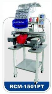 průmyslový vyšívací stroj RCM-1201PT - 12jehel, tlačítkový dislej-