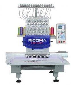 průmyslový vyšívací stroj RCM-1501PT / 15-ti jehlový, tlačítkový panel