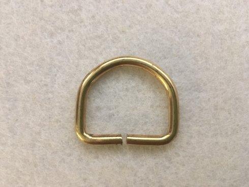 polokroužek mosaz=zlatý š.30/4mm