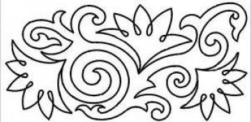 šablona pro quilt - Elisabeth Stern