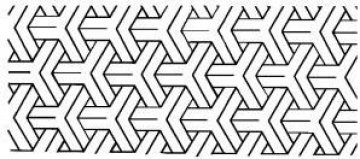 šablona pro quilt - dimension