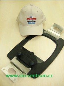 vyšívací rámeček FLAT HAT HOOP JANOME na čepice pro MB-4