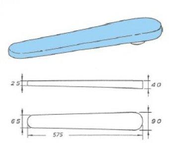 žehl.prkno SDX rukávník délka 575mm
