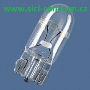 žárovka sulfitová 5W/24V bez závitu
