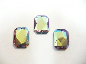 štrasové kameny perleťové 3ks