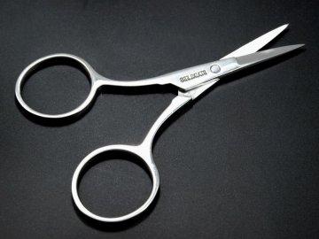 nůžky vyšívací délka 9cm rovné