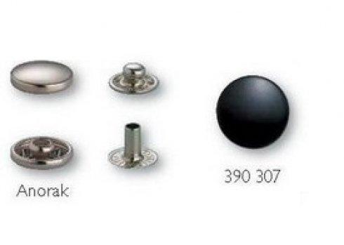 druk stiskací-Anorak 15mm-černý po 1ks