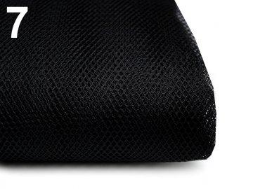tyl oděvní šíře 160cm černý