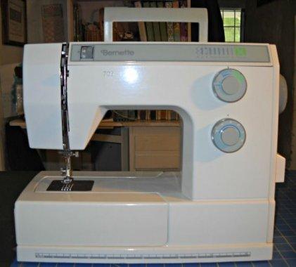 repasovaný šicí stroj Privileg 5400 - celokovový 16prog. vč tně pružných